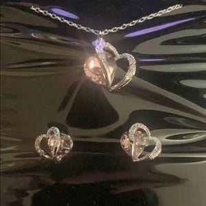 Swarovski heart jewelry